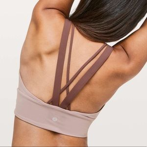 Lululemon pushing limits bra